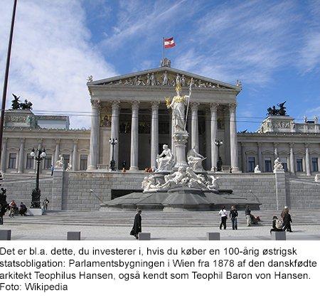 Parlamentsbygningen i Wien